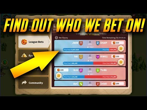 Osiris Betting Who Should we bet on ? Buying Bettors Bundle #1  | Rise of Kingdoms