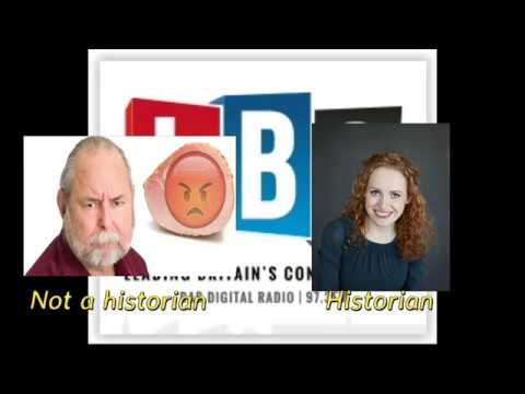Actual historian forced to debate history of WWII with gammon because that's where we are now