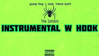 Young Thug   The London (ft. J. Cole & Travis Scott) [Official Instrumental W Hook]