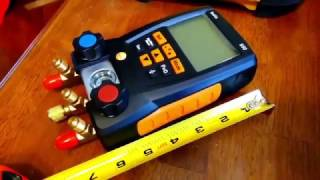 Testo 550   HVAC Gauges   Complete Review