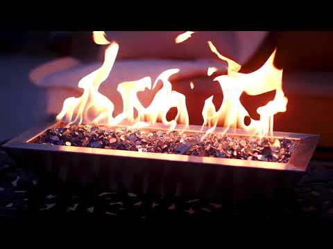 BBQGuys Signature Series Westfalen Stainless Steel Table-Top Fire Pit