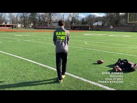 Ryan Anness, Prokicker.com Kicker Punter, Class of 2022, Kentucky
