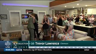 Jaguars Select Trevor Lawrence w/ #1 Overall Pick | 2021 NFL Draft