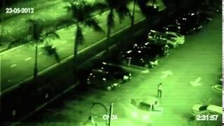 preview picture of video 'Hantu di rakam CCTV Kuala Lumpur'