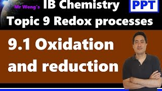 IB Chemistry Topic 9 Redox Processes Topic 9.1 Oxidation And Reduction SL