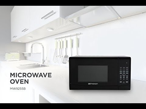 , Emerson 1.5 CU. FT. 1000W Convection Microwave Oven with Grill Touch Control Countertop, Stainless Steel and Black Cabinet, MWCG1584SB