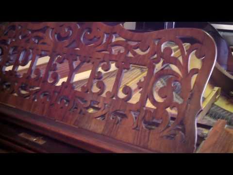 0 - Beautiful made in France Pleyel grand piano (free Yamaha key felt  cover)