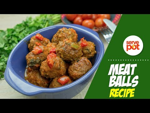 Learn How To Make Meat Balls