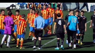 preview picture of video 'AEC.MANLLEU-4 FC.GIRONA-2'