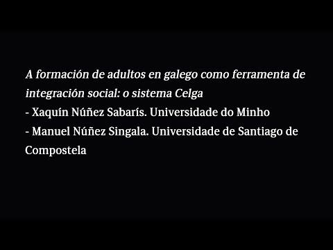 A formación de adultos en galego como ferramenta de integración social: o sistema Celga