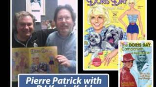 """PIERRE PATRICK chats with KIDD-630 AM / MAGIC 63 radio during their 2011 """"Doris Day birthday show"""""""