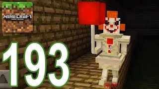 Minecraft: PE - Gameplay Walkthrough Part 193 - Escape From Pennywise (iOS, Android)