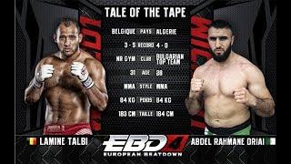 EBD4 - Lamine Talbi Vs Abdel Rahmane Driai