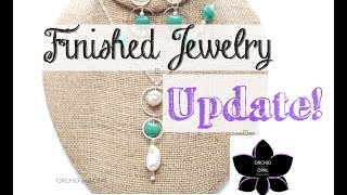 Beads, Beading, And Finished Jewelry Update! 4.29.18