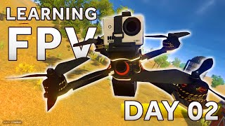 Learning how to fly a FPV Drone [Day 2] LIFTOFF SIMULATOR
