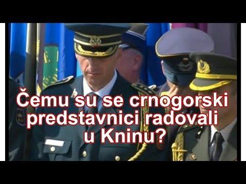 """Ministar odbrane Aleksandar Vulin izjavio je danas da mu je žao što je na obeležavanju godišnjice hrvatske akcije """"Oluja"""" u Kninu, """"na proslavi najvećeg stradanja mog naroda"""", video - oficira crnogorske vojske."""
