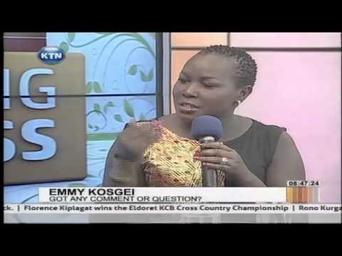 Gospel Artist Emmy Kosgey interviewed on Morning Express by Sophia Wanuna