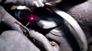 2001 Mercedes S500 Cracked 3 Way Heater Hose Leak