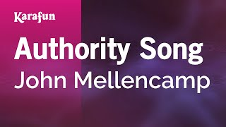 Karaoke Authority Song - John Mellencamp *