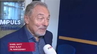 Karel Gott slaví 78.narozeniny - TV Nova reportáž