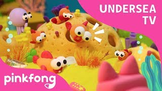 Undersea TV | Pinkfong Clay | Craft for Kids | Pinkfong Songs for Children