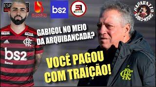 Gabigol conquista torcedores Rubro-Negros! Como que Abel Braga ficou tanto tempo no Flamengo?
