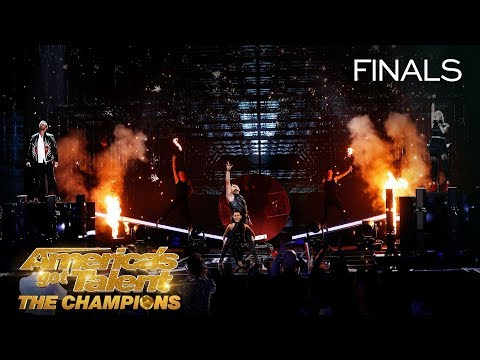 The Greatest From Got Talent Put On An EPIC Show - America's Got Talent: The Champions (видео)