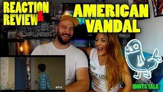 American Vandal Trailer 1 - Reaction & Review - Is Drawing Di*ks a Crime?