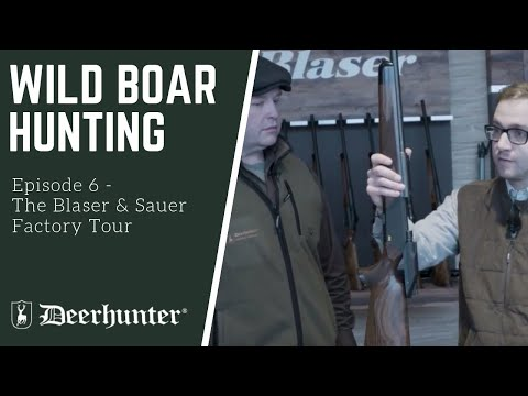The Blaser factory tour