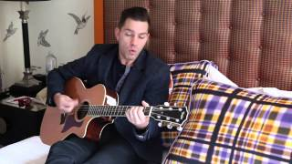 "Andy Grammer performs ""Keep Your Head Up"" in bed 