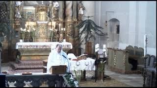SZÓSZÉK - római katolikus szentmise a Piarista templomból