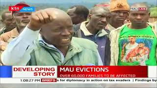 Families have started leaving Mau forest