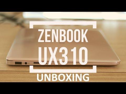 ASUS Zenbook UX310UQ Unboxing