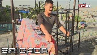 Brigada: Lalaki, naglalako ng mga kagamitan sa bahay para sa pamilya