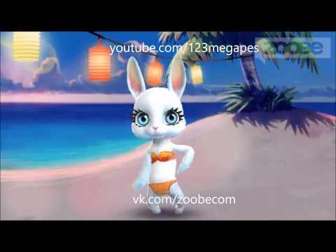 Zoobe Зайка Бананы, кокосы