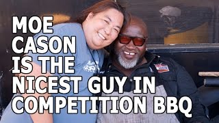 Hangin' Out with Moe Cason at the 2016 Horsetown Brew 'n' Que