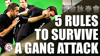How to Fight Multiple Attackers | 5 Rules to Survive & Defend Yourself in a Fight