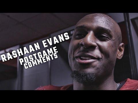 Rashaan Evans talks about Alabama's defensive dominance in Peach Bowl
