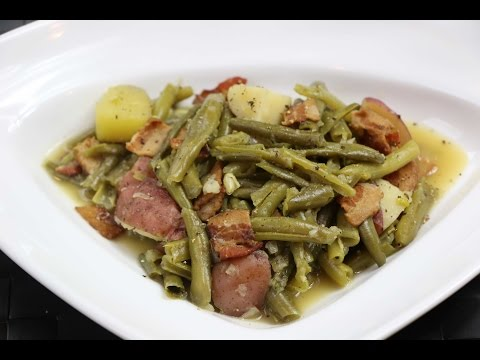 Green Beans and Potatoes Recipe – How to Make Southern Style String Beans and Potatoes