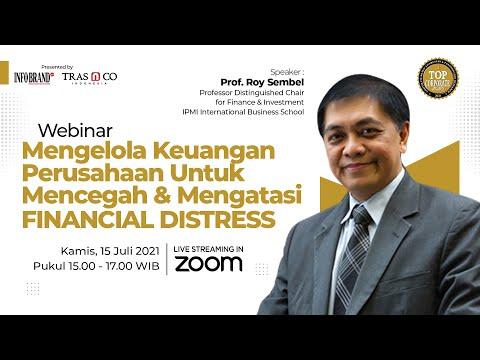 Webinar Mengelola Keuangan Perusahaan Untuk Mencegah & Mengatasi Financial Distress