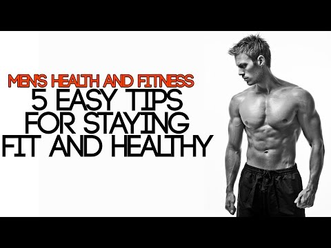 Video MEN'S HEALTH AND FITNESS | 5 EASY TIPS FOR STAYING HEALTHY | Mayank Bhattacharya