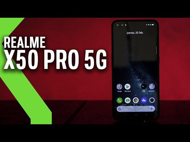 Realme X50 Pro 5G, primeras impresiones: La POTENCIA BRUTA es su mayor baza contra la COMPETENCIA