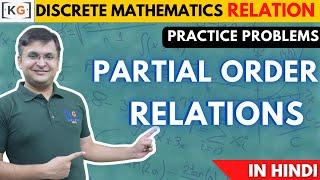 Lecture 40 lattices part 15 practice problem on partial order relations poset in hindi poset lattice ccuart Images