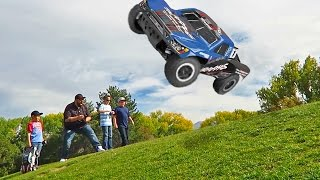 BIG AIR RC Car Flips and Impossible Jumps
