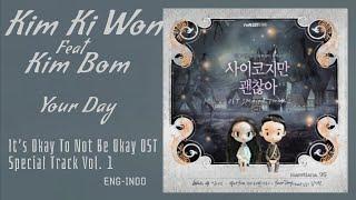 Kim Ki Won(김기원) Ft Kim Bom(김봄) – Your Day Lyrics It's Okay To Not Be Okay OST Special Track Vol. 1
