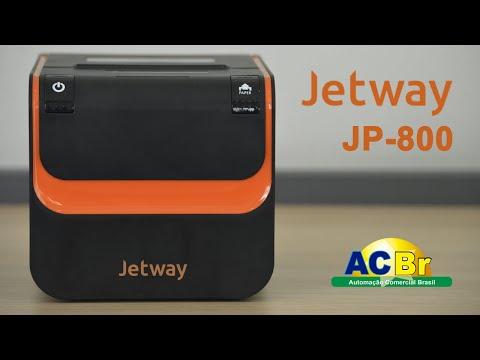 Impressora Jetway JP-800 | Homologação ACBr