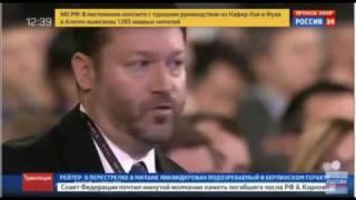 Шикарный ответ Путина американскому журналисту на вопрос о досрочных выборах (23.12.2016)