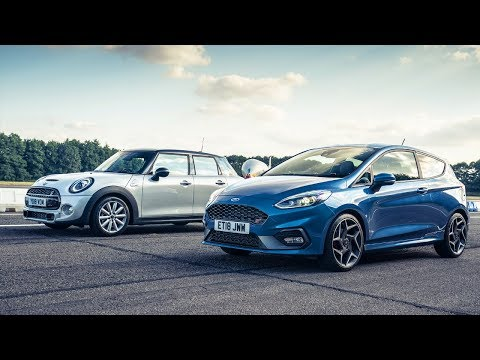 Ford Fiesta ST vs Mini Cooper S | Drag Races | Top Gear