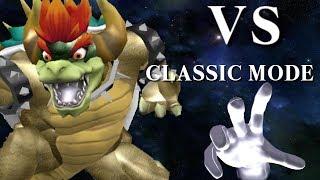 Giga Bowser vs Classic Mode | SSB4