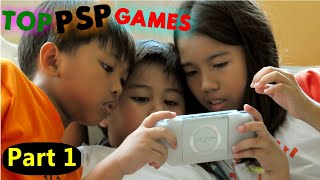 TOP PSP GAMES (PART 1) OVER 150 GAMES!!